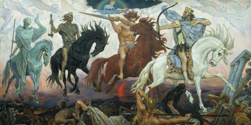 Four Horsemen Viktor Vasnetsov EDIT
