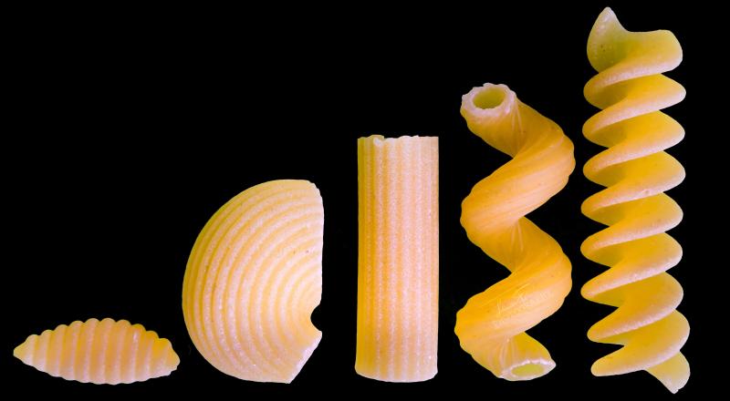 Pasta Shapes by Luca Florio elle_florio 26750479006 EDIT