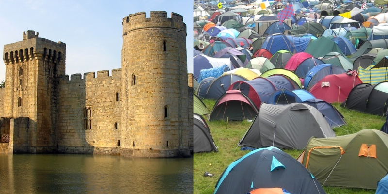 Castle-and-Tents