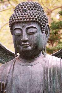 Buddha, Japanese Tea Garden, San Francisco, from Lightmind.com
