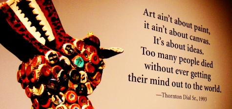 Art Ain't About Paint