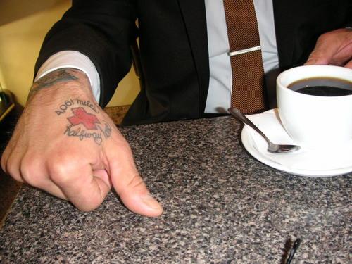 David at Cafe Greco